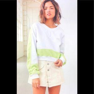 Without Walls Crop Sweatershirt